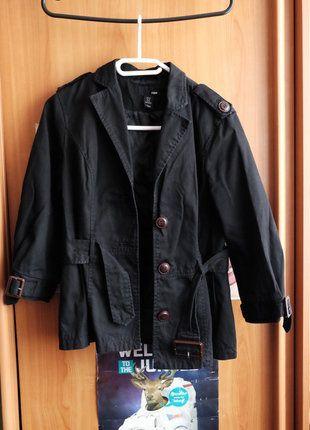 Kupuj mé předměty na #vinted http://www.vinted.cz/damske-obleceni/saka-saka/13654921-cerne-sako-s-paskem-zn-hm