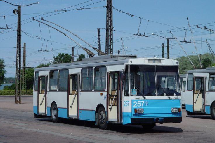 Skoda 14tr trolleybus in Tallinn