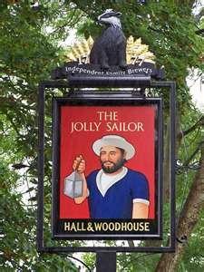 British Pub Sign