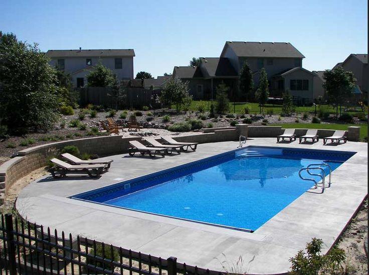 Rectangle Inground Swimming Pool Kits Royal Swimming