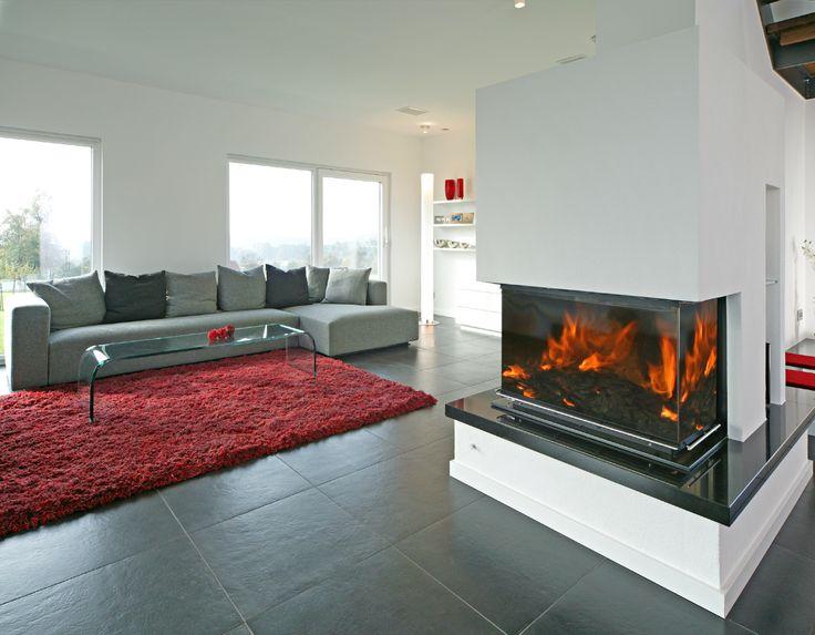 Musterhaus inneneinrichtung wohnzimmer  75 besten Musterhäuser von Fertighaus WEISS Bilder auf Pinterest ...