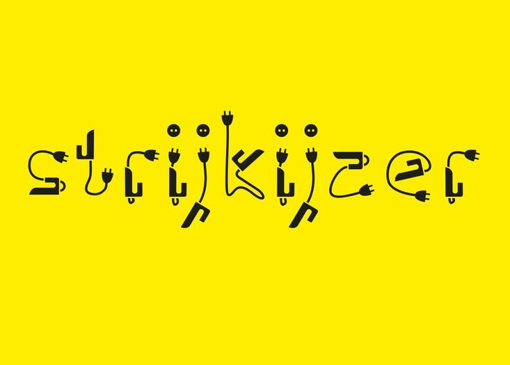 Here is Ps Strijkijzer Free Font Download which is originated as a joke between friends. Ps Strijkijzer is a fun typeface that is suitable for many different projects. Don't hesitate to download it for free below, friends! You'll love it for sure!