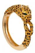 $720 Bracelete cabeça leopardo - Butler & Wilson