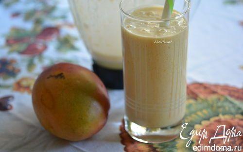 Кремовый манго смузи | Кулинарные рецепты от «Едим дома!»