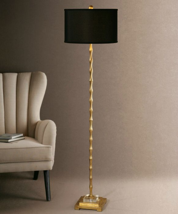 quindici gold floor lamp with black shade best 25 gold floor lamp ideas