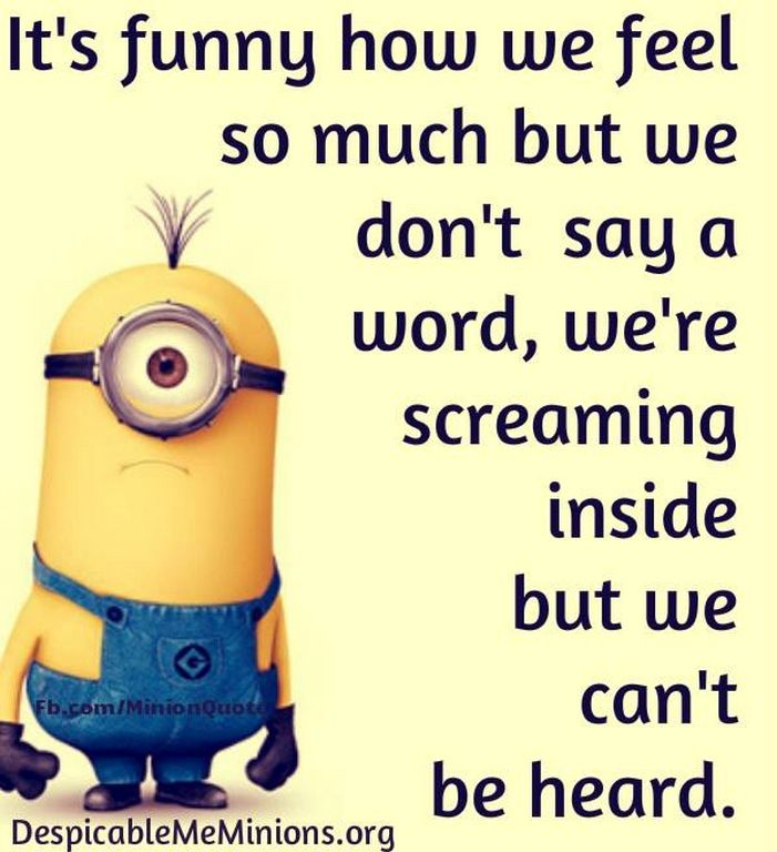Funny Minion pictures with quotes (07:40:11 PM, Tuesday 17, November 2015 PST) – 10 pics