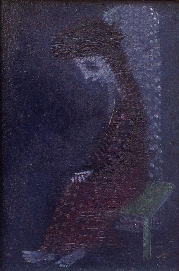Aad de Haas (1920-1972), Treurende Christus, 1947