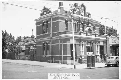 Elsternwick Post Office 1940