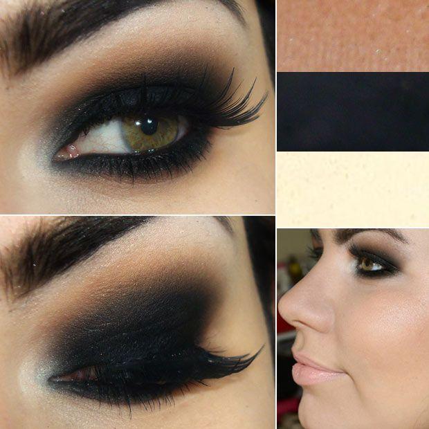 love dark smokey eyes