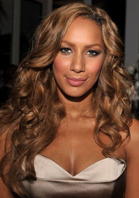Leona lewis, Golden brown hair color and Golden brown hair on ...