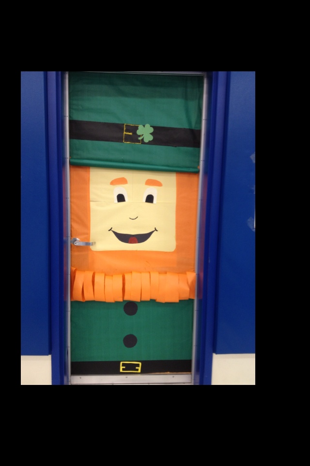 St Patrick Door Decoration For School School Decorations