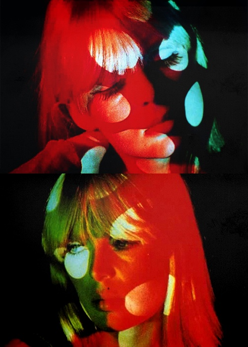 Nico, in Andy Warhol's Exploding Plastic Inevitable