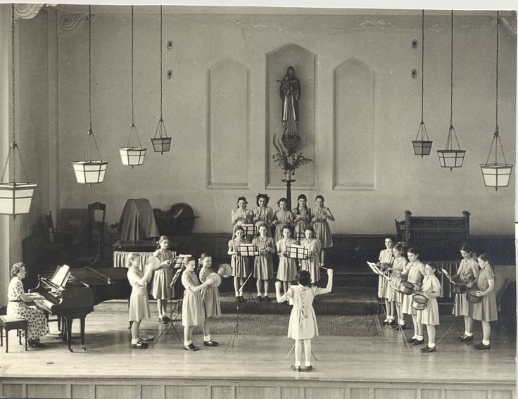 Percussion band 1950