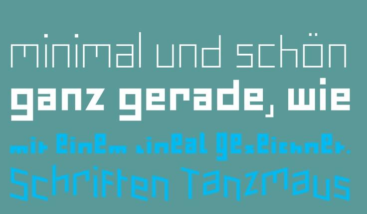 FF Minimum: Pierre di Sciullo (1993)  für FontFont http://www.fontshop.com/fonts/downloads/fontfont/ff_minimum_ot/