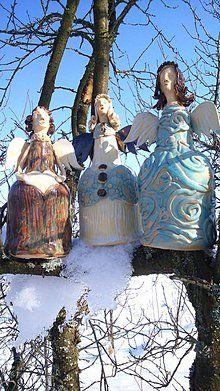 Dekorácie - anjel - anjelské zbory - 6526637_