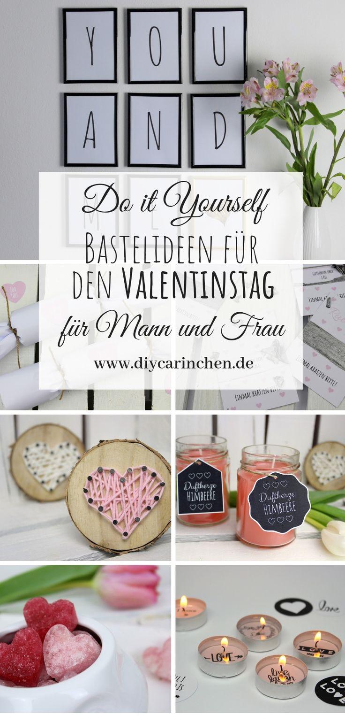 DIY: Die Schönsten und einfachsten Ideen Rund um das Thema Valentinstag für M…