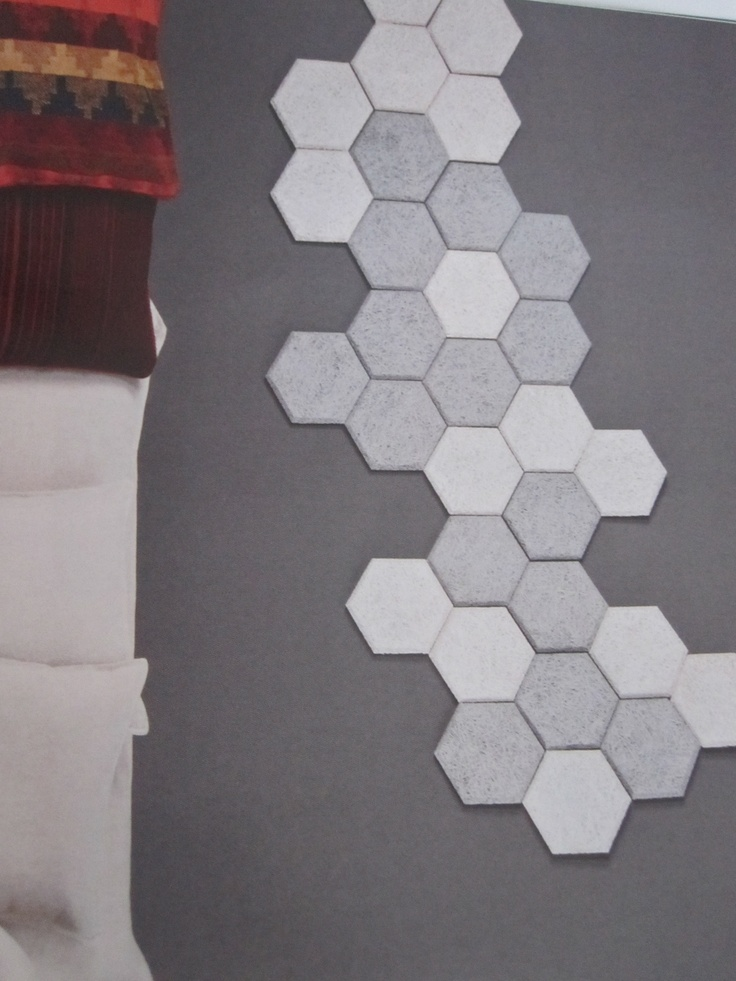 Hexagon Acoustic Panels By Paroc For The Home