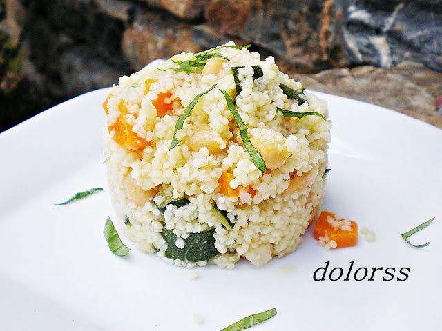 Blog de cuina de la dolorss: Cuscús con verduras y garbanzos
