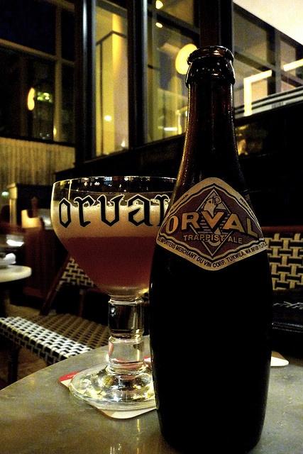 Bière d' orval, associée à de tels souvenirs là-bas sur place à l'abbaye...