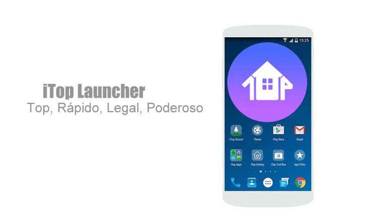 iTop Launcher -Marshmallow 6.0 é um dos melhores launchers baseado no Android Marshmallow 6.0 totalmente otimizado, rápido e leve.