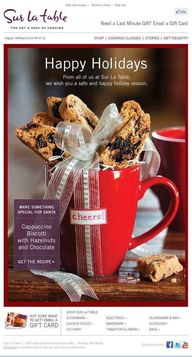 Cute Way To Gift Wrap Biscotti. I Would Probably Wrap The Whole Cup In  Cellophane. Cracked Pepper, Dried Cherry, And Chocolate Chunk Biscotti
