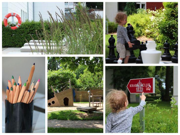 Mitten in der Gartenanlage: Der Krabbenclub, eine Villa nur für Kinder
