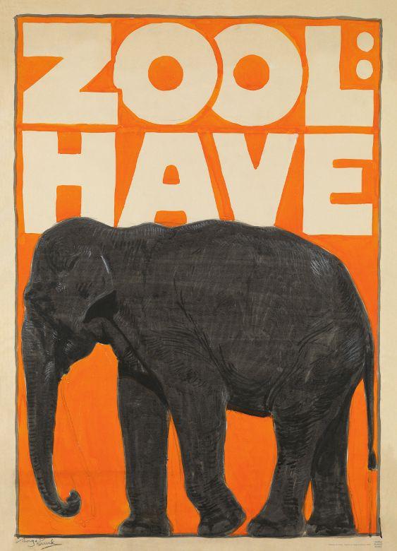 Zool Have (1920) Kunstner: Aage Lund Læs historien bag plakaten her: http://danskplakatkunst.dk/plakater/alle-plakater/zool-have