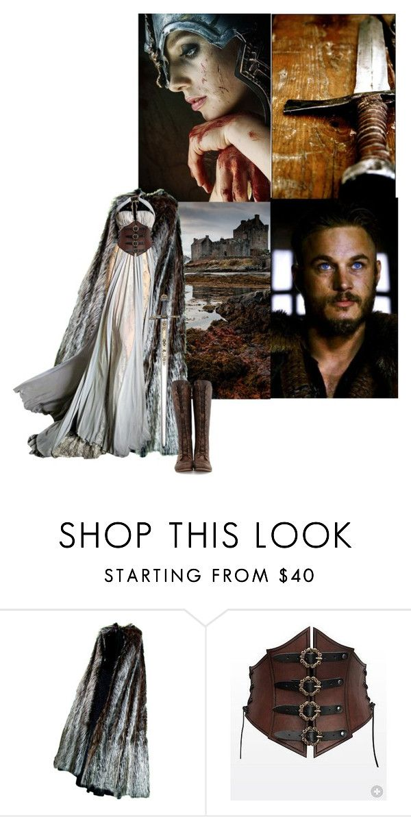 """VIKING"" by tasa92 ❤ liked on Polyvore featuring John Fluevog, viking and warior"