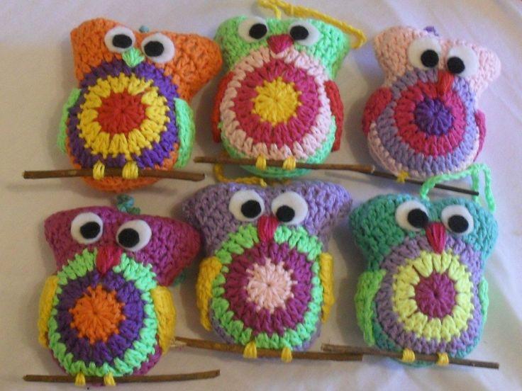 lechuzas al crochet - Buscar con Google