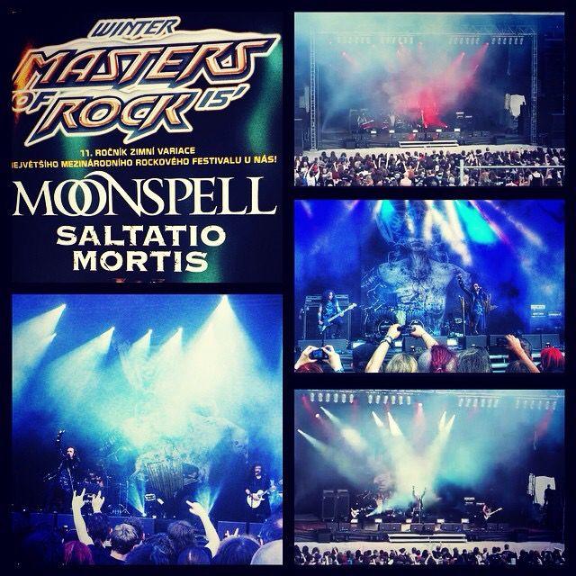 Moonspel Live Plzeň 2015