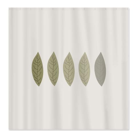 Modern Minimalist Leaf Pattern Shower Curtain http://www.cafepress.com/ modern_minimalist_shower_curtain,897533334?aid=1115743   CafePress has the best selection of custom t-shirts, personalized gifts, posters , art, mugs, and much more.{Cafepress-BJthZo5x}