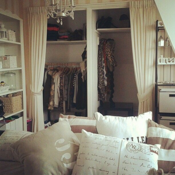 1000+ images about Curtain closets on Pinterest   Closet ...