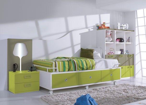 Mejores 182 im genes de mobiliario juvenil tonos verdes en for Mobiliario habitacion juvenil