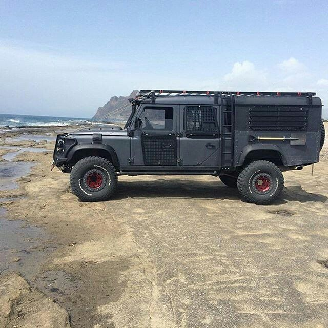 "This is the most popular #Landrover #Defender 130"" crewcab on social media for good reasons. By @yurdakl"