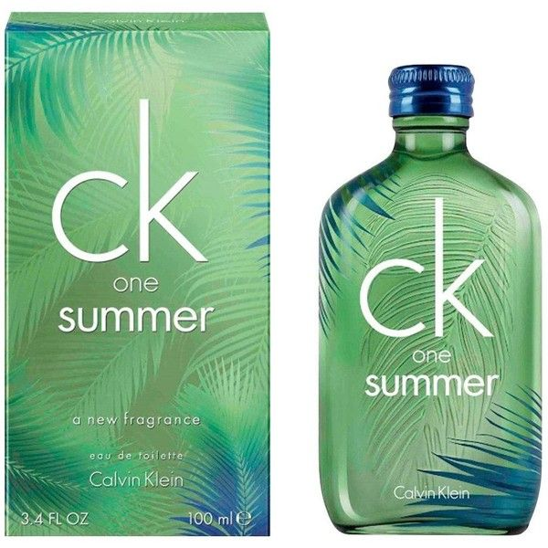 Calvin Klein Ck One Summer 100Ml&Nbsp;Edt ($58) ❤ liked on Polyvore featuring beauty products, fragrance, edt perfume, calvin klein fragrance, calvin klein, eau de toilette perfume and calvin klein perfume