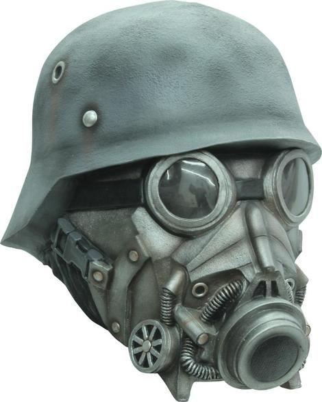 Chemical Warfare Ad Latex Mask