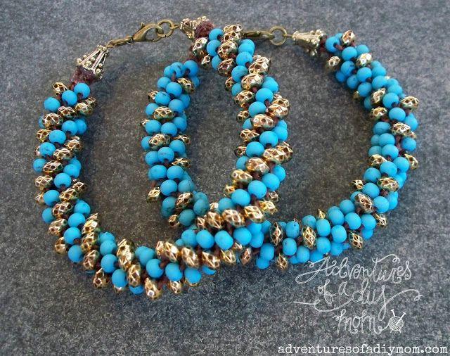 1000 ideas about beaded bracelets tutorial on