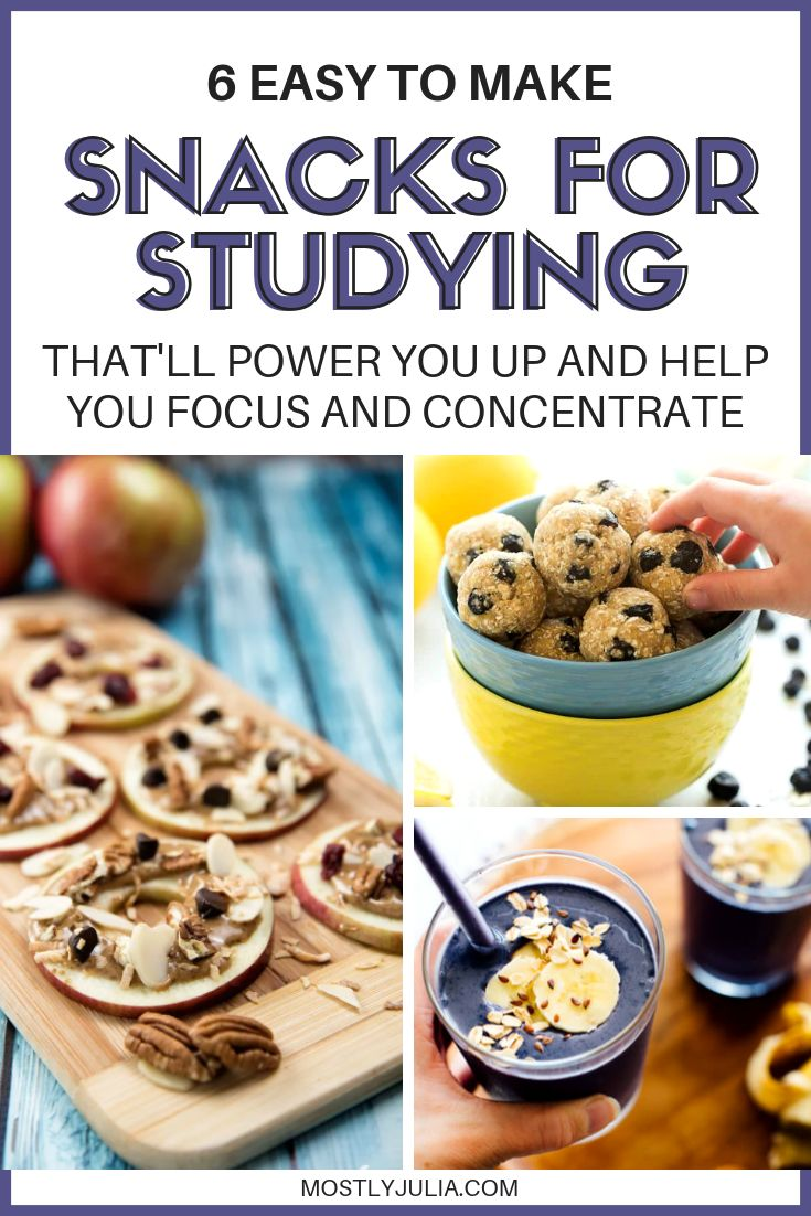Healthy Power Snacks For Studying That'll Help You Focus ...