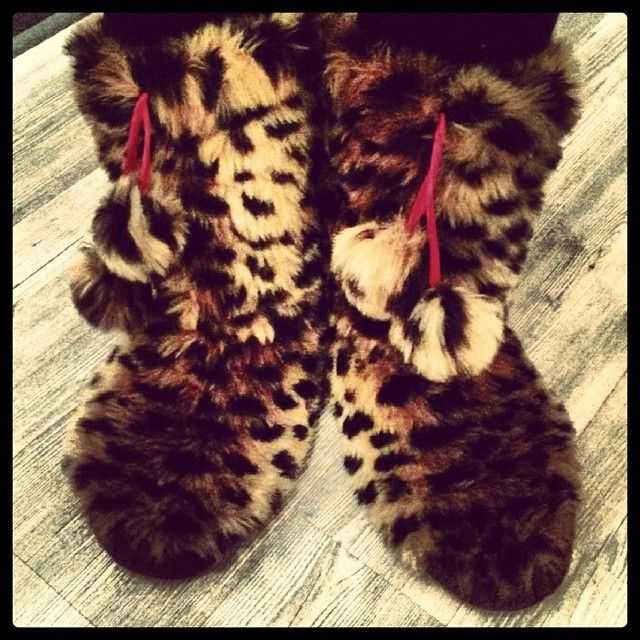 Cute Fuzzy Slippers