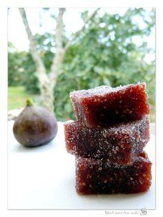 Pâtes de fruits aux figues - Much more than sushi - Vegan recipe - Recette végétalienne