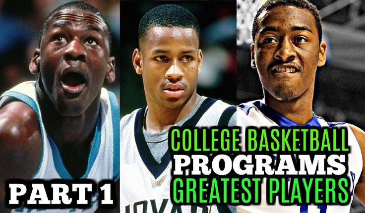 WATCH: College Basketball Programs Greatest Players: Michael Jordan * Allen Iverson * John Wall