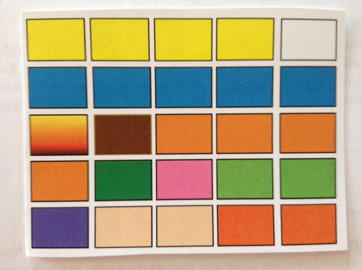 Color Block (for LDS NT Scripture Mastery)