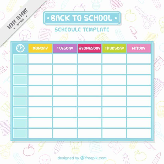 Cute Class Schedule Maker Fresh The 25 Best Revision Timetable