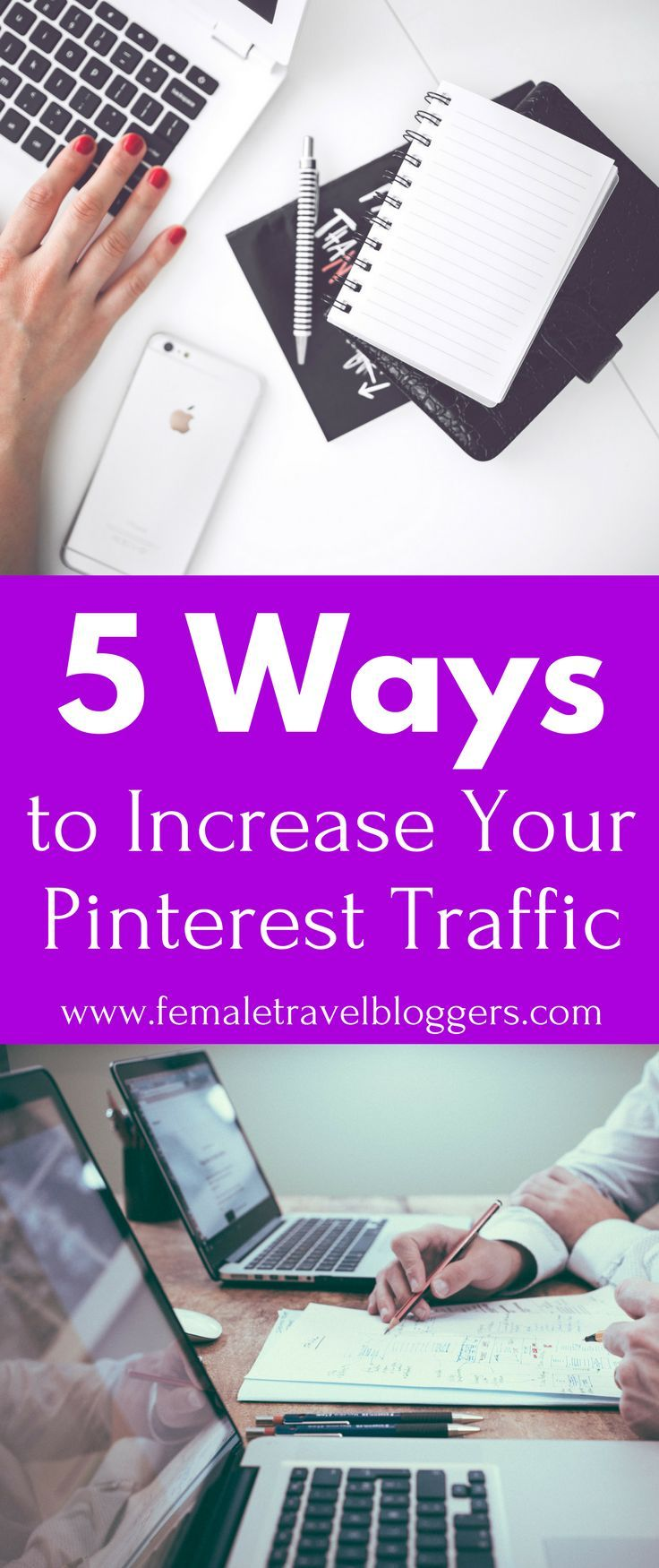 Are you looking for new ways to increase your Pinterest traffic? We will share 5 things you could be doing wrong on Pinterest and how to fix them. I bet you're doing number 2 and didn't even realize it. Make sure you share this to your blog board so you can find it later. #pinterest #pinteresttips #marketing