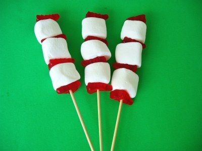 Cat In The Hat Marshmallow Kabob Snack Recipe