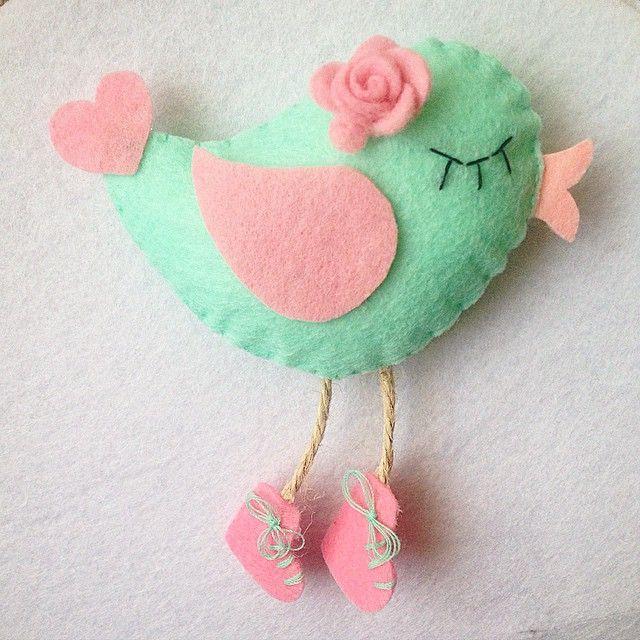 keçe kuş felt bird