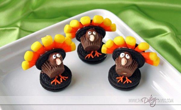 Thanksgiving cookies! Cute!!