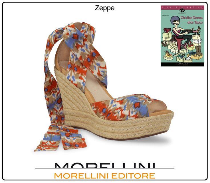 """Gli antesignani delle zeppe si chiamavano pianelle, ed erano quelle scarpe, usate dal Medioevo in poi, costituite da una piattaforma di notevole altezza. Usate dalle signore, che spiccando come trampolieri erano costrette ad """"ancorarsi"""" alle loro ancelle, camminando con loro a braccetto."""