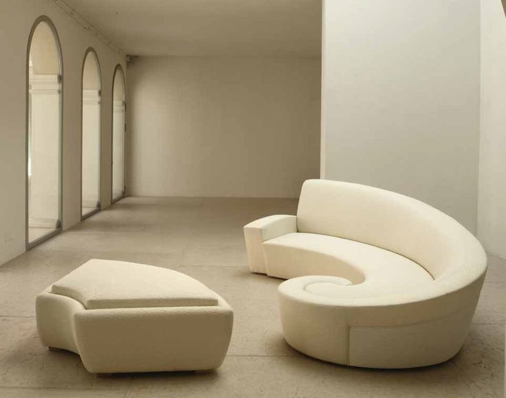 curved furniture \ Eclectic Italian Furniture Custom - contemporary curved sofa