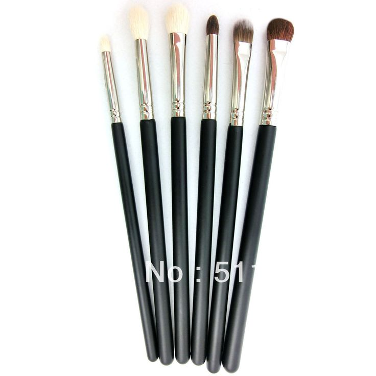 Eyes kit Wholesale Makeup Brush Cosmetic Set Kit  Black Makeup Eyeshadow Brushes Free Shipping-in Makeup Sets from Beauty & Health on Aliexp...